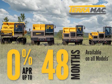 Terramac 0% Financing Offer