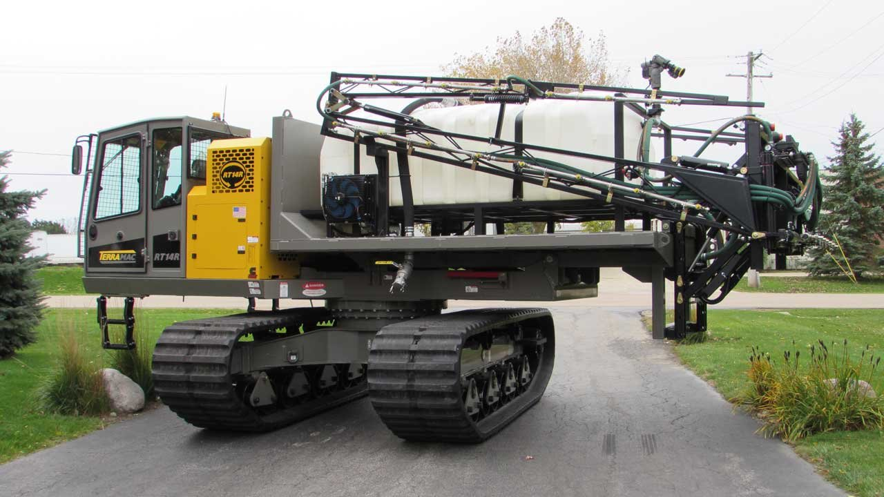 RT14R with Dust Control System